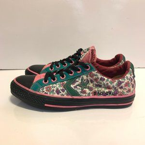 Converse Chuck Taylor All Star Floral Shoes Size 9